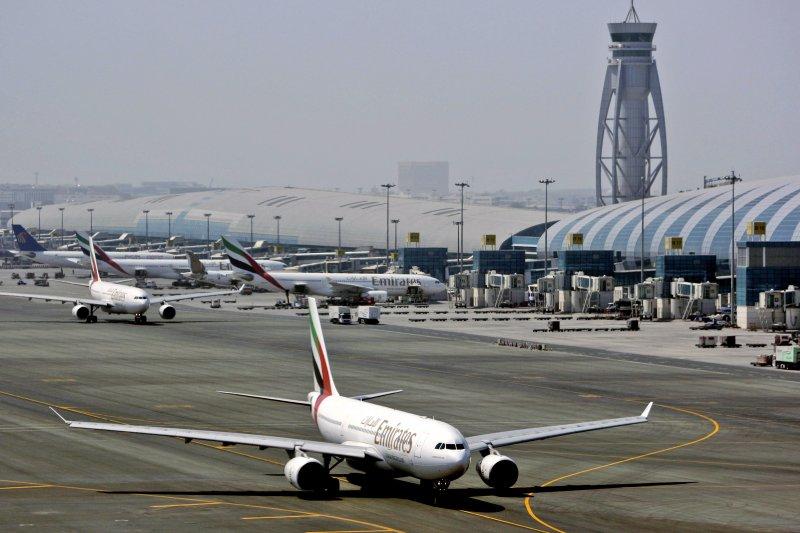 卡達首都杜哈的哈瑪德國際機場。(資料照,美聯社)
