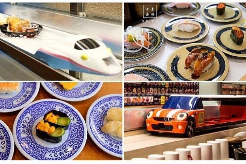 炎炎夏日,不想吃太燙的食物就來點迴轉壽司吧! (圖/OpenRice提供)