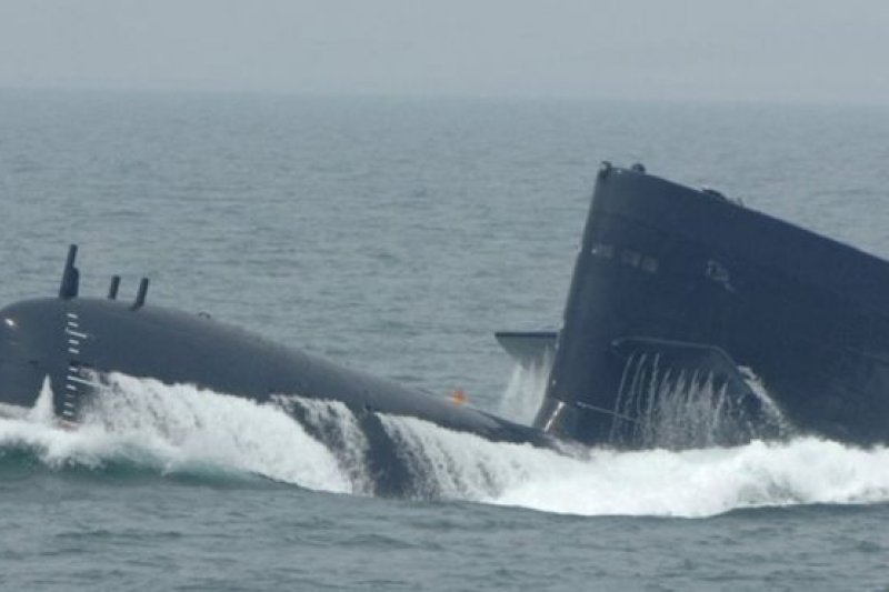南海是中國海軍潛艇的重要活動海域。(BBC中文網)