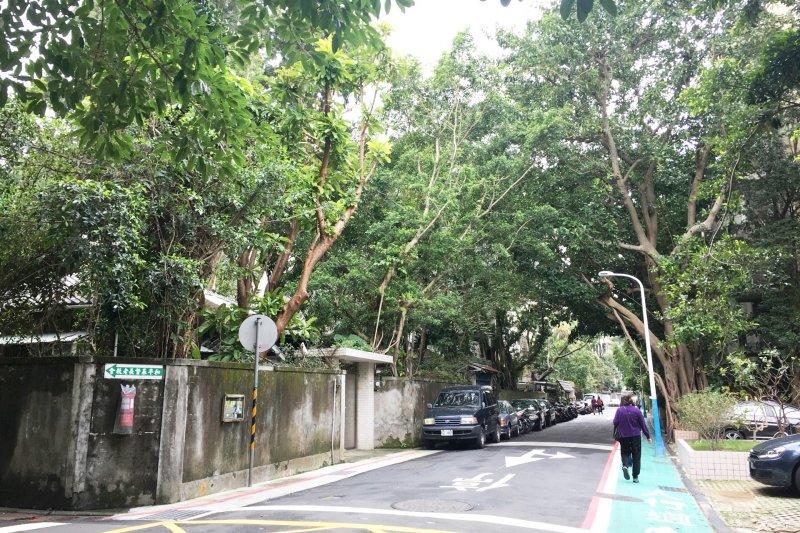 造訪青田街,享受台北市區難得一見的慢步調吧!(圖/鐘敏瑜攝)