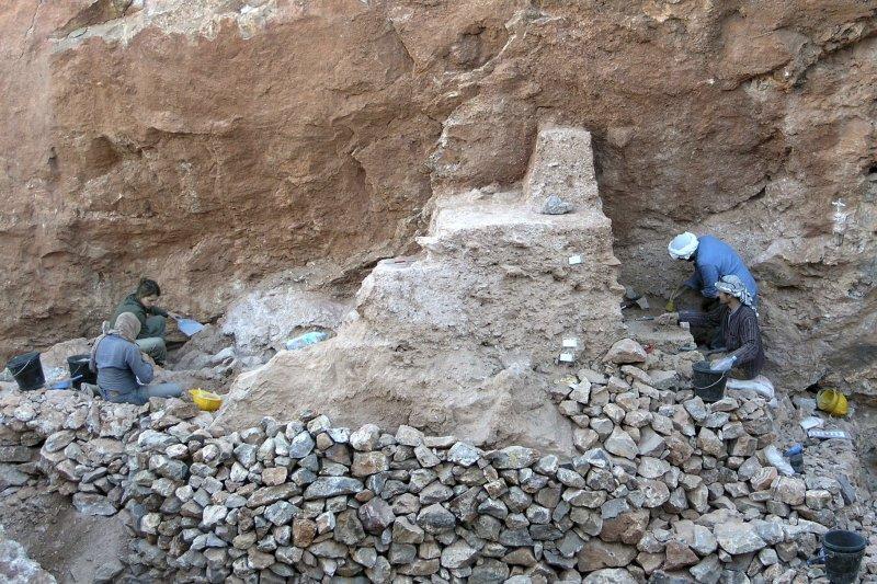 北非摩洛哥的杰貝衣羅(Jebel Irhoud)遺址,出土30萬年前的智人化石(AP)