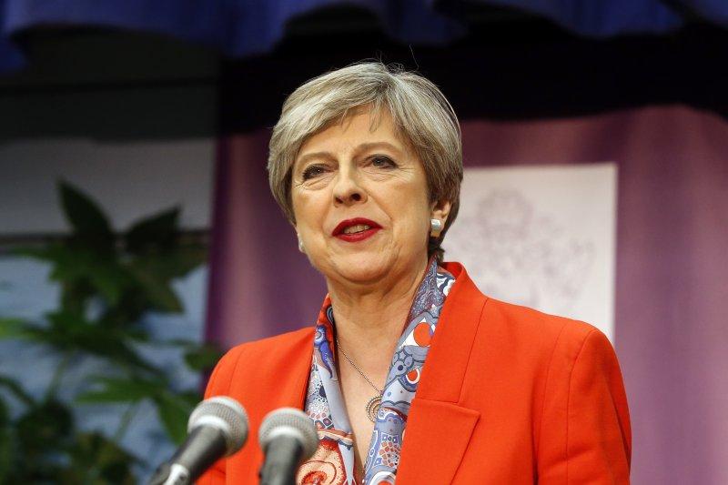 2017年6月8日英國國會大選,首相梅伊(Theresa May)領導的保守黨痛失多數席位,梅伊本人也面臨下台壓力(AP)