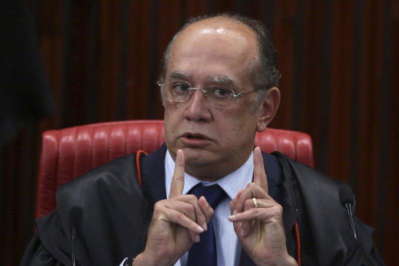 巴西最高法院法官9日在宣判特梅爾無罪。(美聯社)