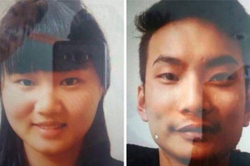 巴基斯坦警方5月公布的被綁架中國公民照片。(BBC中文網)