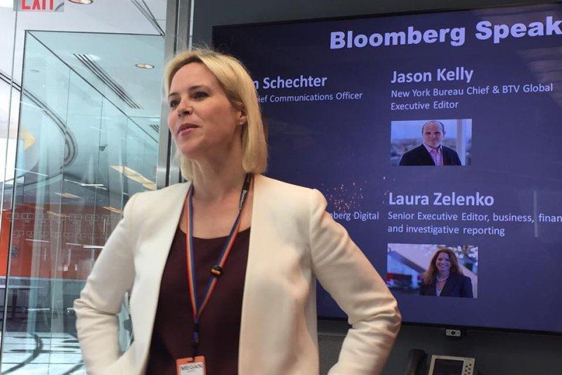 美國《彭博商業雜誌》(Bloomberg Businessweek)編輯莫菲(Megan Murphy)(簡恒宇攝)