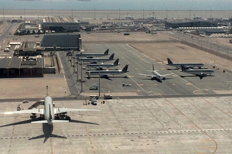 卡達的烏代德空軍基地(Al Udeid Air Base)是美國在中東地區最重要的軍事據點(AP)