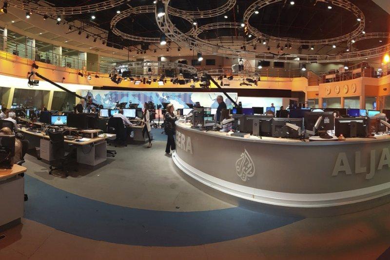 卡達「半島」(Al Jazeera)衛星電視台(AP)