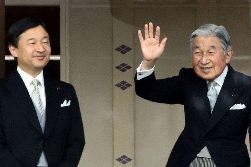 83歲的明仁天皇將在明年年底退位,皇太子德仁親王將繼位。(BBC中文網)
