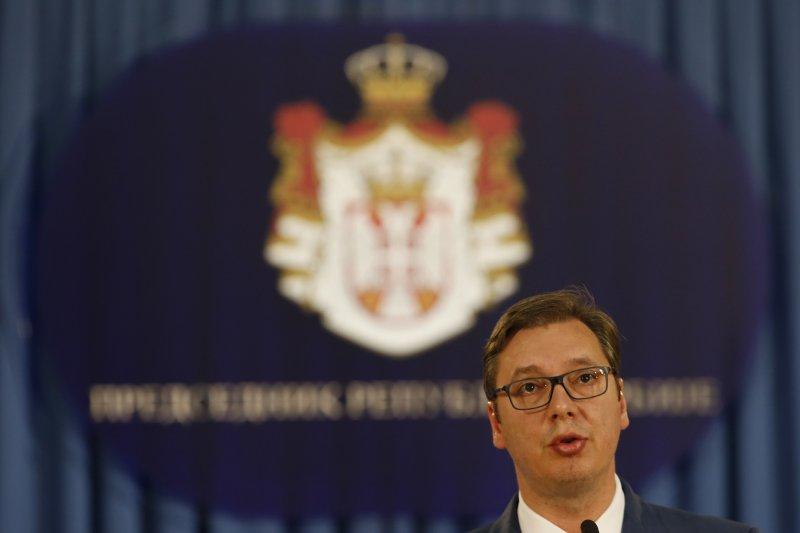 塞爾維亞總統武契奇(AP)