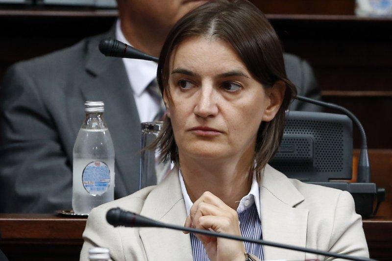 塞爾維亞出櫃女同志布納比奇被提名為新總理人選(AP)