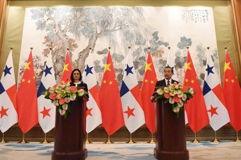 中國與巴拿馬建立正式外交關係,台灣又失去一個邦交國。(BBC中文網)