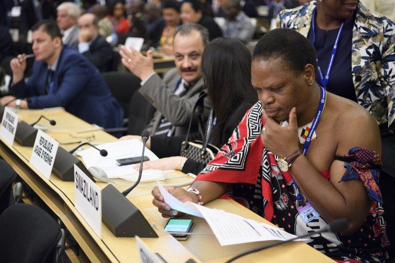 2017年6月16日,國際勞工組織(ILO)舉辦的國際勞工大會(ILC)在瑞士日內瓦落幕(AP)