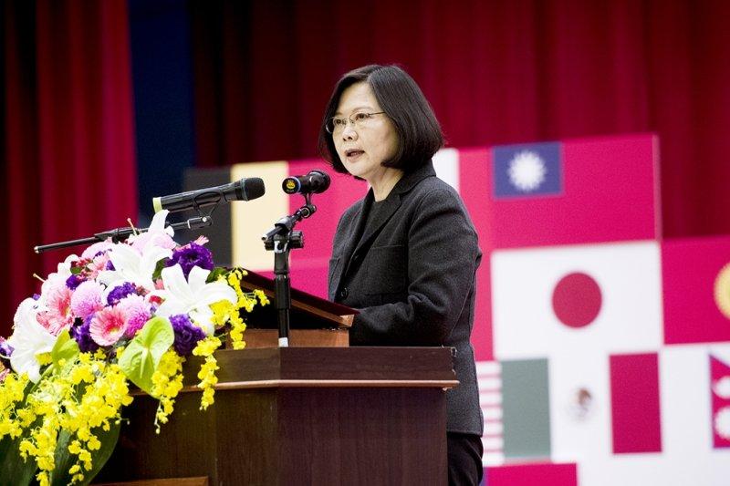作者:「台灣人民早已用行動證明——我們不是、也不願成為中國不可分割的一部分。」(圖/總統府@flickr)