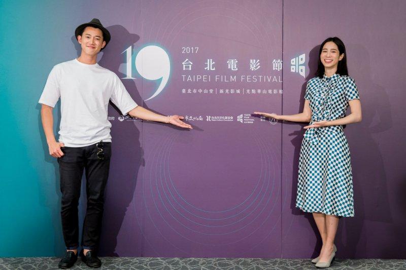 兩位電影大使温貞菱、吳慷仁暢談自己的演員之路。(圖/台北電影節提供)
