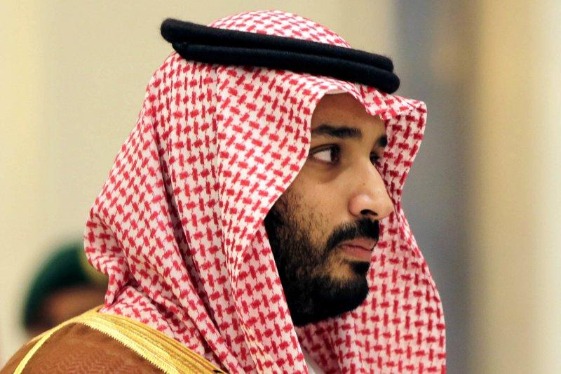 沙烏地阿拉伯新任王儲穆罕默德.本.薩勒曼。(美聯社)