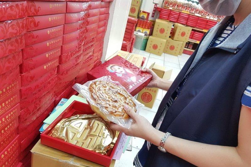 雲林縣政府澄清日興堂狀元餅經查察安全無疑慮,請民眾安心食用。〔圖/雲林縣政府提供〕