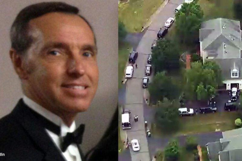 美國退休外交官馬洛里(Kevin Mallory)被控出賣國家機密,FBI幹員22日大舉搜索其住處(取自網路)