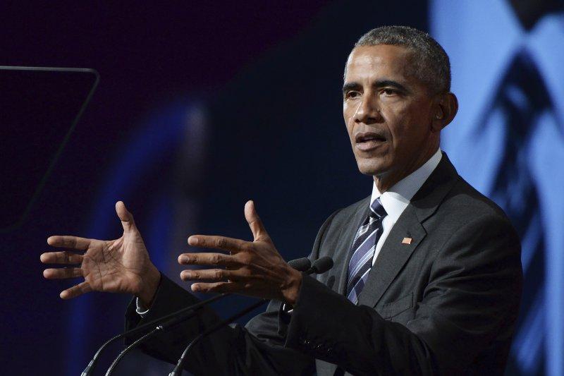 「歐巴馬總統雖然經常被企業界批評為反商傾向,事實上他領導的是美國歷史上最向企業傾斜的政府之一。」(美國前總統歐巴馬。資料照,美聯社提供)