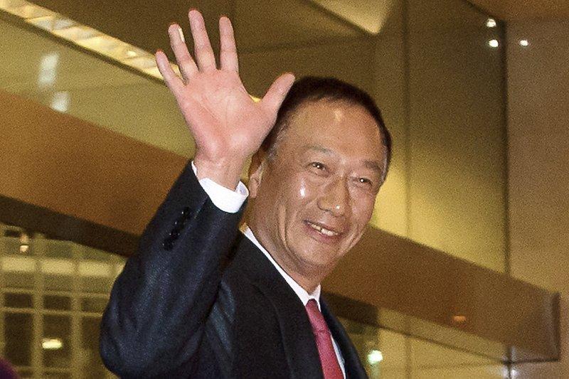 鴻海精密董事長、富士康科技集團總裁郭台銘,宣布投入國民黨總統提名初選(AP)