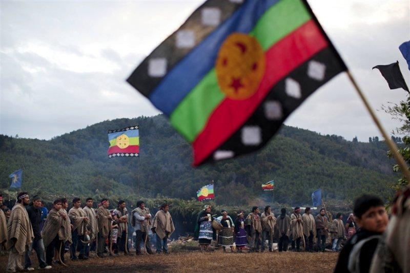 智利與阿根廷的原住民馬普切人。(美聯社)