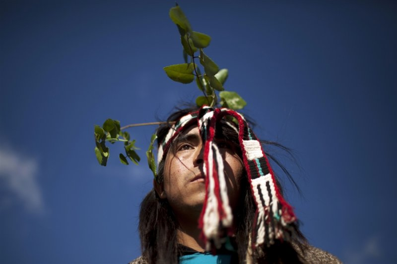馬普切人是生活在智利中南部和阿根廷西南部的原住民。(美聯社)