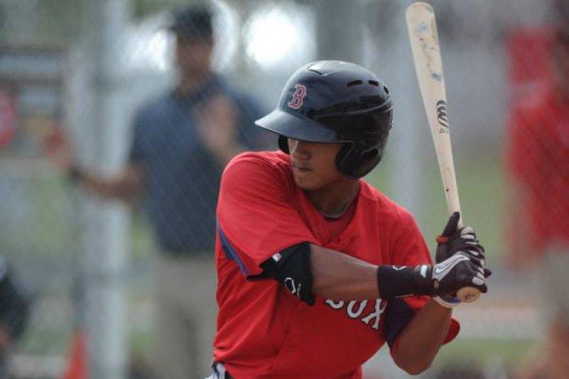 我國旅美棒球好手林子偉,本季效力於波士頓紅襪隊。(資料照,取自林子偉臉書)