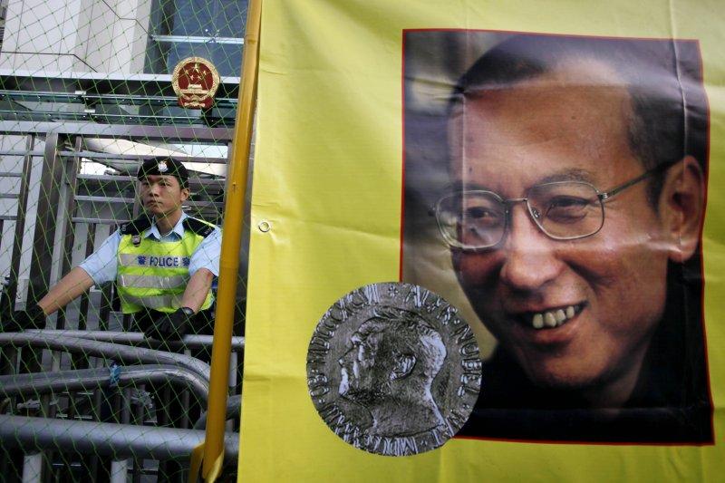 劉曉波是2010年的諾貝爾和平獎得主。(美聯社)
