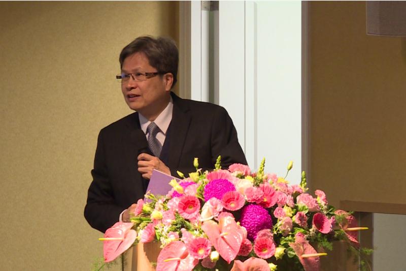 臺北大學副校長李承嘉在論壇中,針對BOT的美麗與哀愁進行分享(圖 / 風傳媒)