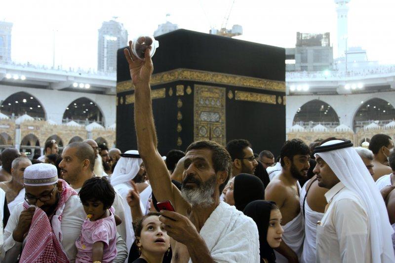 沙烏地阿拉伯,齋戒月,麥加大清真寺。(美聯社)