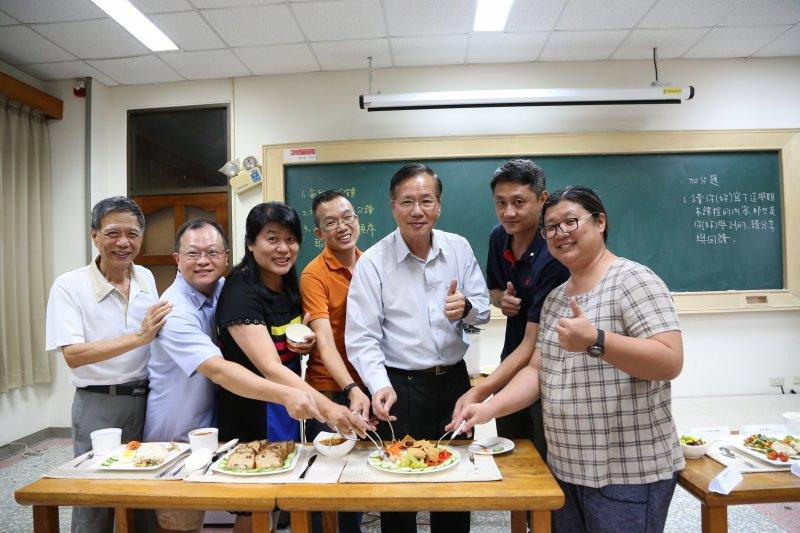 嘉義南華大學推廣在地慢食,為大林慢城打造友善且永續的幸福小鎮。(圖/南華大學提供)