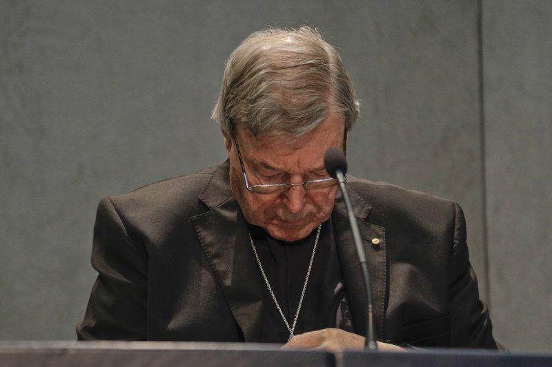澳洲樞機主教佩爾(George Pell)被控犯下多起性侵案(AP)