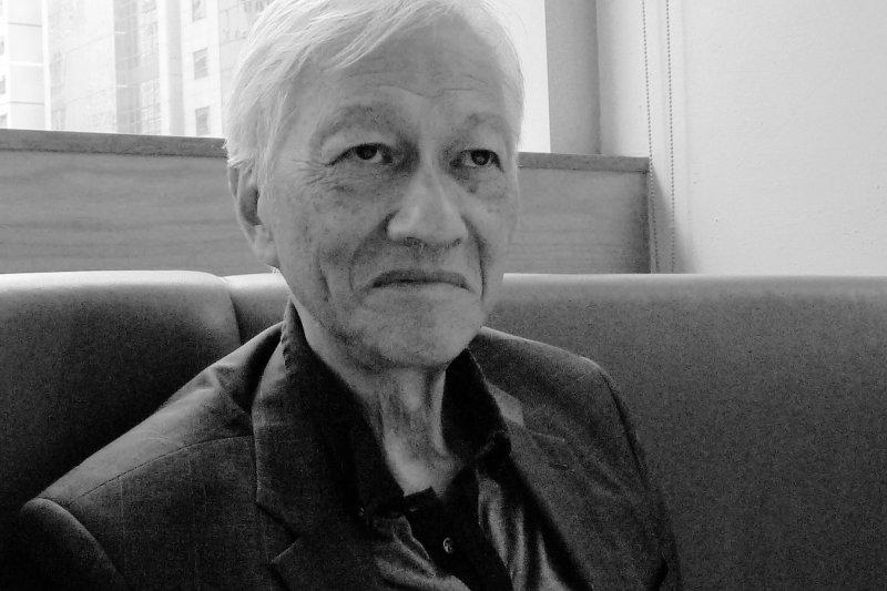 81歲的資深媒體人李怡認為「一國兩制」只是權宜之計。(郭宏治攝)