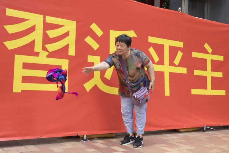 中國國家主席習近平將訪香港慶祝回歸20周年。(AP)