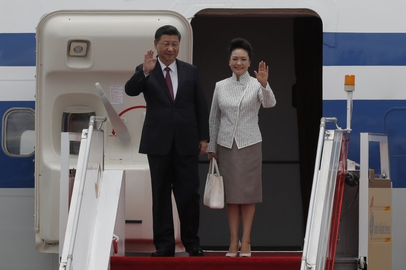 慶祝香港回歸中國20周年,中國國家主席習近平6月29日起訪問香港3天,香港警方嚴陣以待(AP)