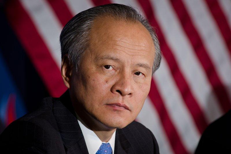 中國駐美大使崔天凱(Wikipedia / Public Domain)