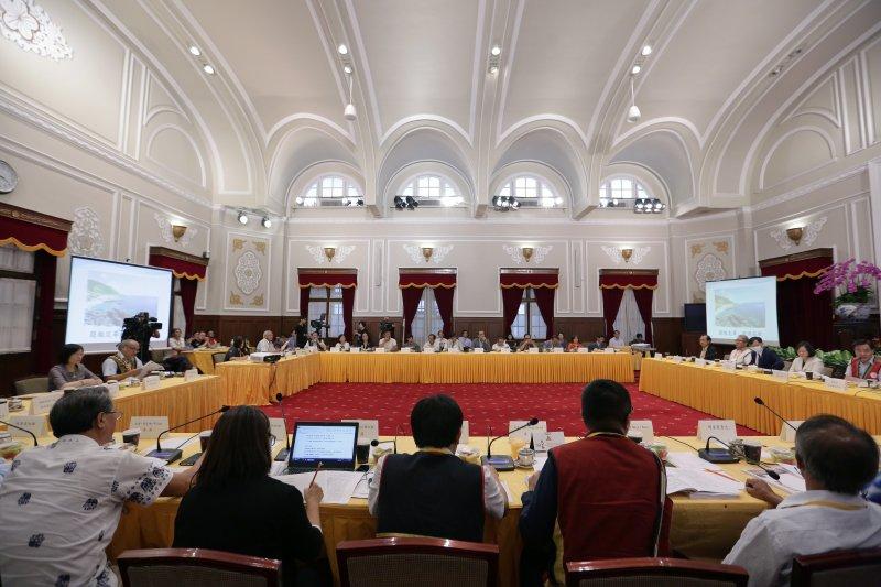 2017年6月30日,總統府原住民族歷史正義與轉型正義委員會第二次委員會議(總統府)