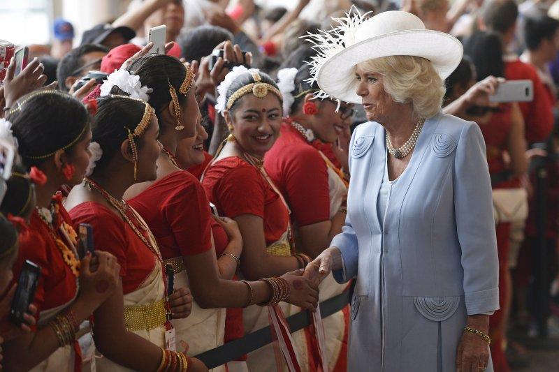 英國查爾斯王儲夫人卡蜜拉(AP)