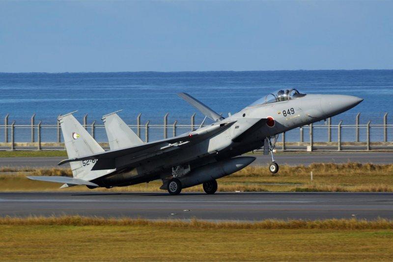 日本航空自衛隊「南西航空方面隊」F-15J戰機,那霸基地(南西航空方面隊FB)