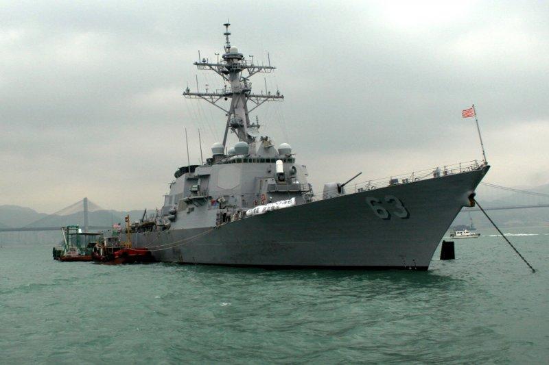 美國海軍飛彈驅逐艦史塔森號(USS Stethem)(Wikipedia / Public Domain)