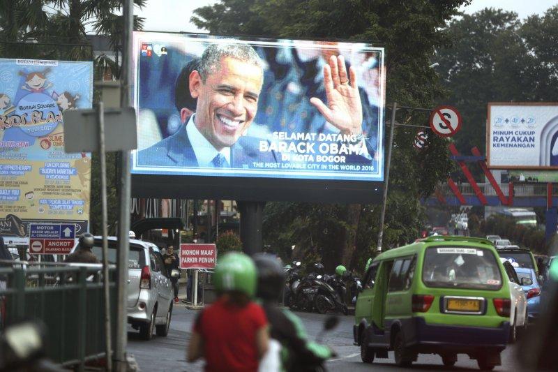 歐巴馬到兒時家園印尼度假,最後一天在雅加達演說(AP)
