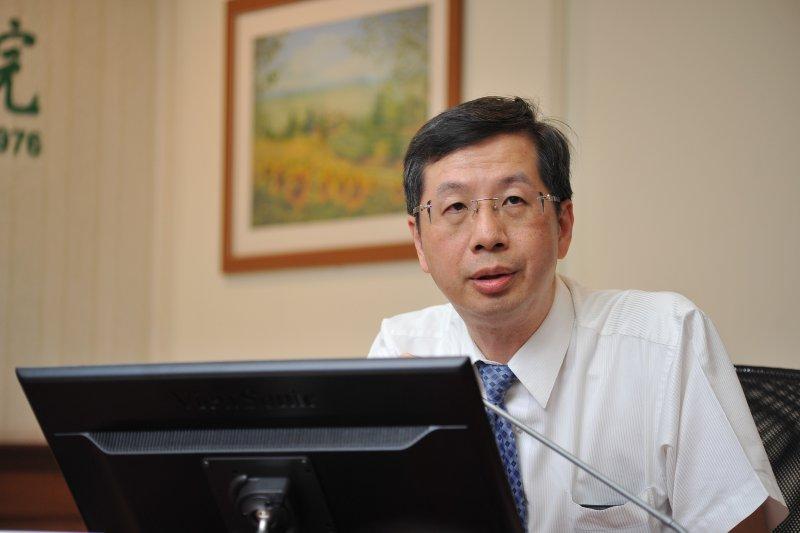 20170703-長庚記者會,行政中心組長林秀峰。(甘岱民攝)