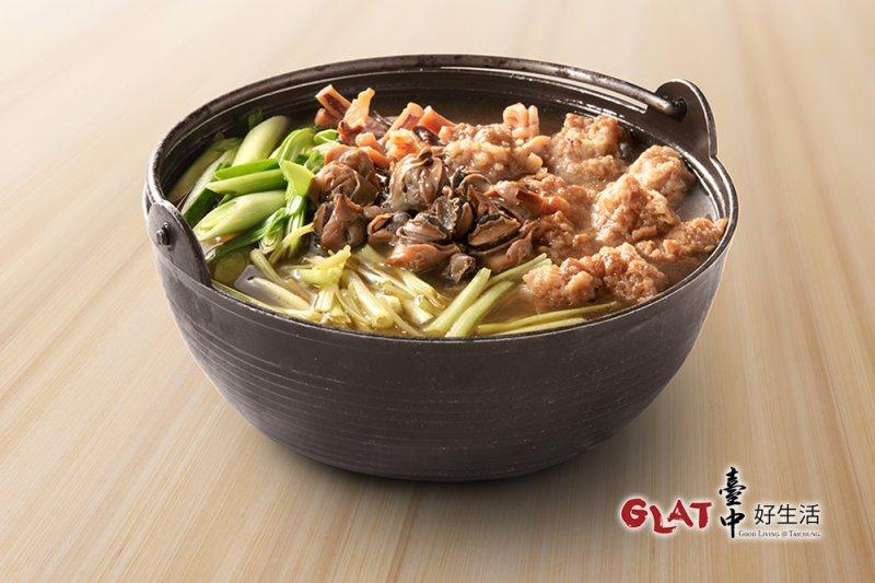 魷魚螺肉蒜是酒家菜經典代表之作,以螺肉、魷魚和蒜苗為主要食材。(圖/台中好生活提供)