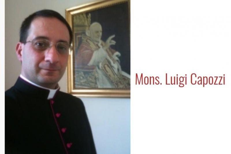梵蒂岡宗座法典條文解釋理事會二等秘書卡波吉(翻攝網路)
