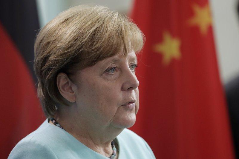 德國總理梅克爾(AP)