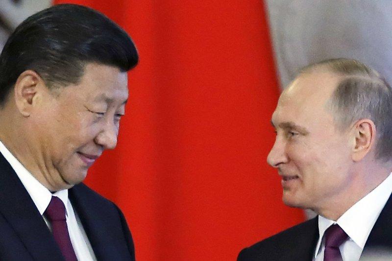 中俄罕見發表聯合聲明譴責北韓。(美聯社)