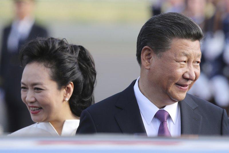 2017年7月,中國國家主席習近平與夫人彭麗媛訪問德國,並將參加20國集團(G20)漢堡峰會(AP)