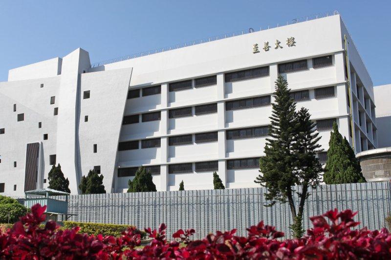 性侵男童的陳姓男子前科累累,7月28日剛從台北監獄出獄,不到2個月就發生性侵案件。圖為台北監獄至善大樓。(資料照,法務部提供)