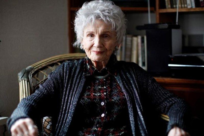 2013年的孟若,她在這一年獲得諾貝爾文學獎(AP)