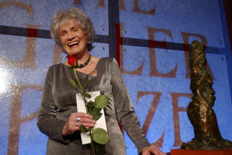 2004年,孟若憑《出走》獲得加拿大吉勒獎(AP)