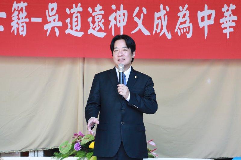 作者認為,台南市長賴清德本來就不是神,這場造神運動,是否該停止了?(資料照,台南市政府提供)